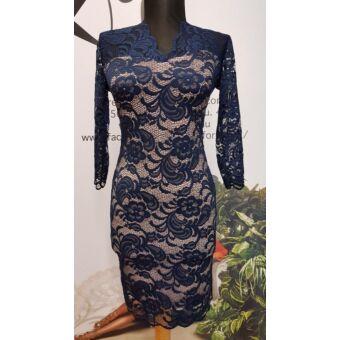 Envy kék csipkés ruha