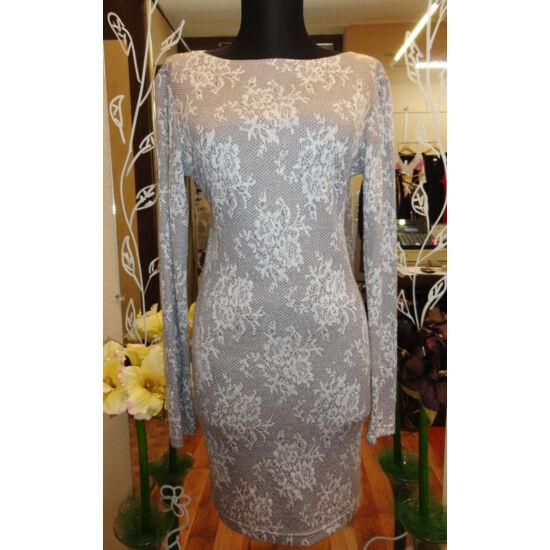 Envy ezüstszínű party ruha