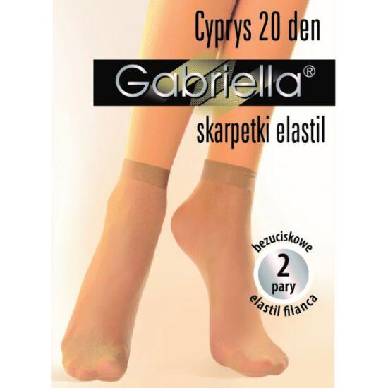 Gabriella Medica krepp két páras bokafix 20 den