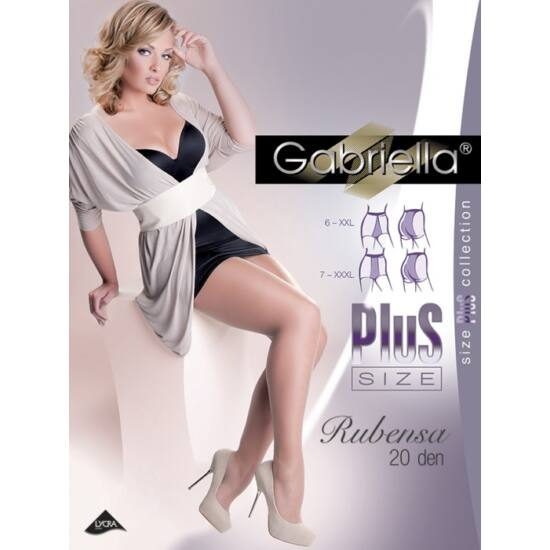 Gabriella Rubensa Plus Size harisnyanadrág neutro szín