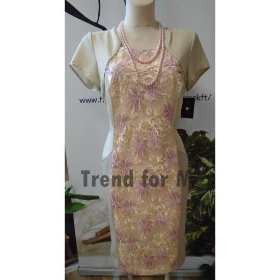Szöszy csipke mintás alakformáló ruha