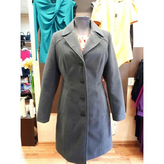 Szöszy karcsúsított szürke kabát