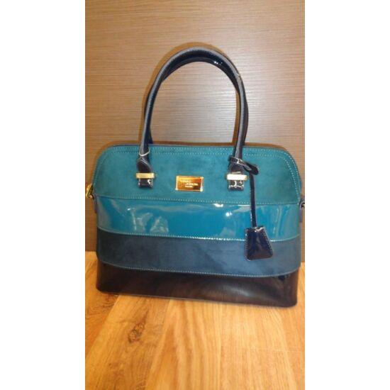 David Jones kék csíkos táska