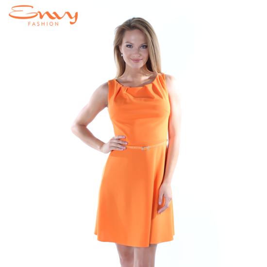 Envy derekán öves narancs ruha