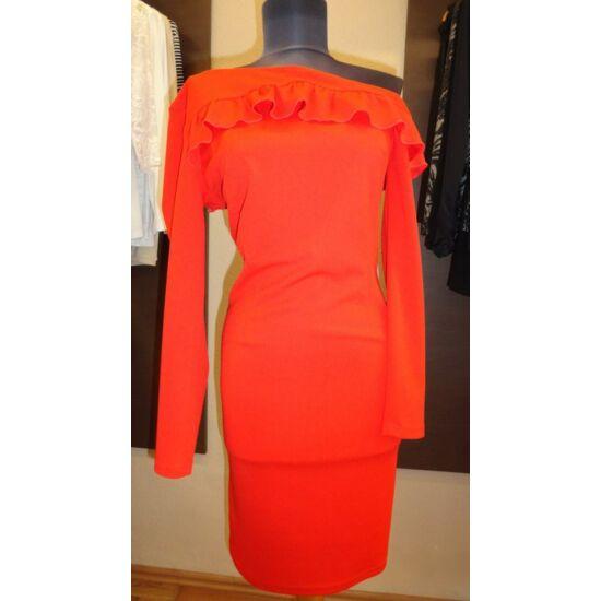 Envy piros, fodor díszítésű ruha