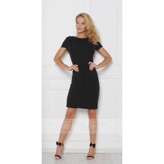 Envy derekán masnis fekete ruha