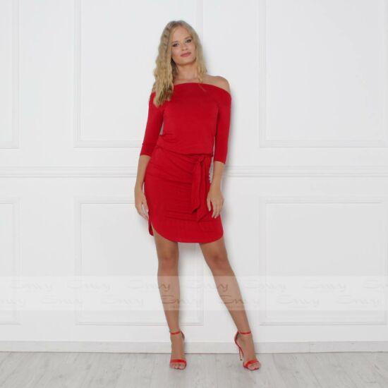 Envy piros pamut megkötős ruha