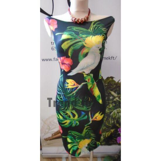 Envy T-vállú mintás ruha