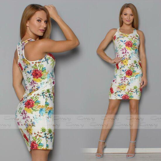 Envy fehér alapon virágmintás ruha