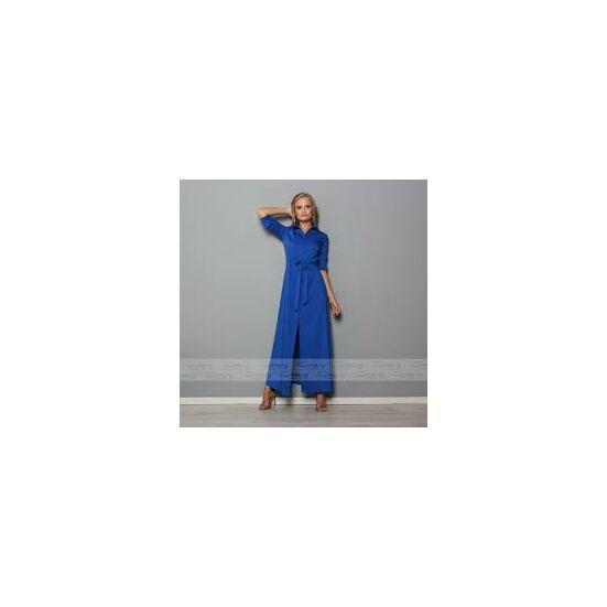 Envy kék maxi ingruha rövid ujjú változatban