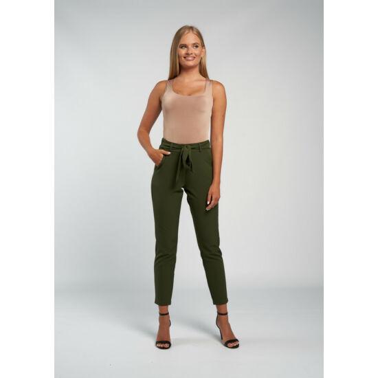 Envy kekizöld színű kötős nadrág