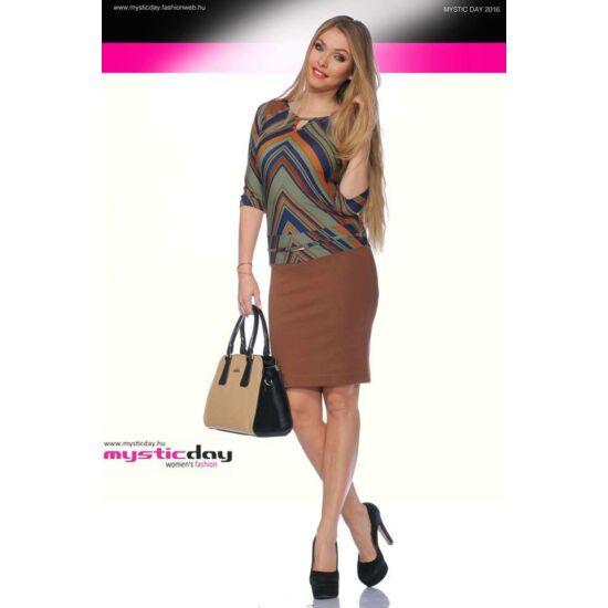 Mystic Day mintás alakformáló ruha