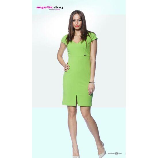 Mystic Day zöld alakformáló ruha