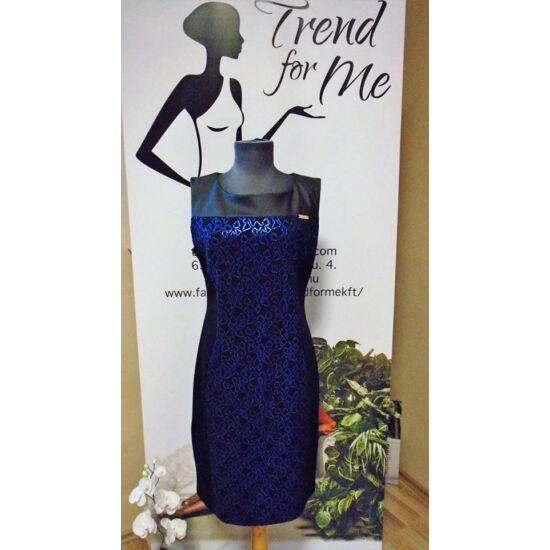Mystic Day kék mintás alakformáló ruha