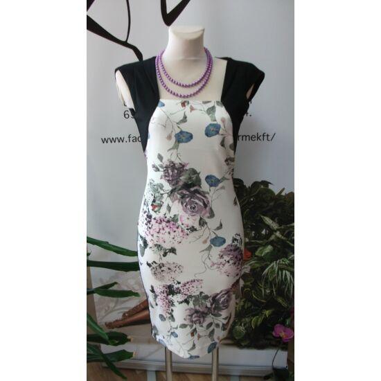 Mystic Day virágmintás alakformáló ruha