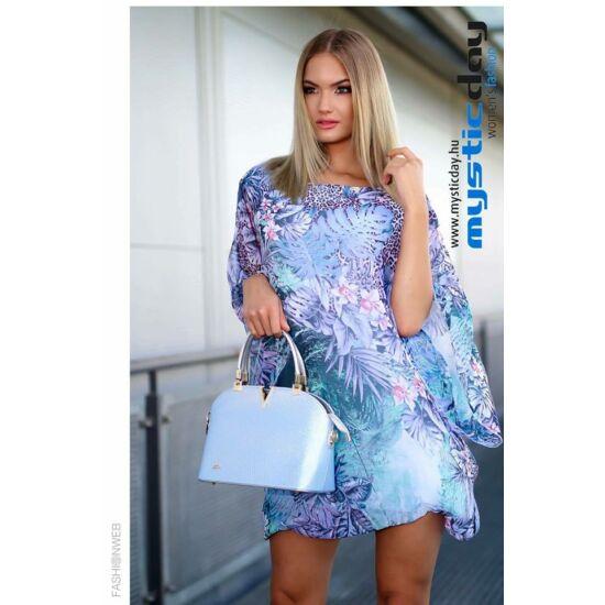 Mystic Day muszlinos virágmintás alakformáló ruha/tunika