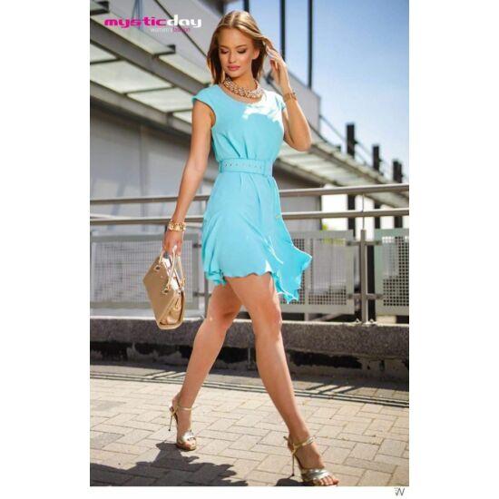 Mystic day kék laza nyári ruha