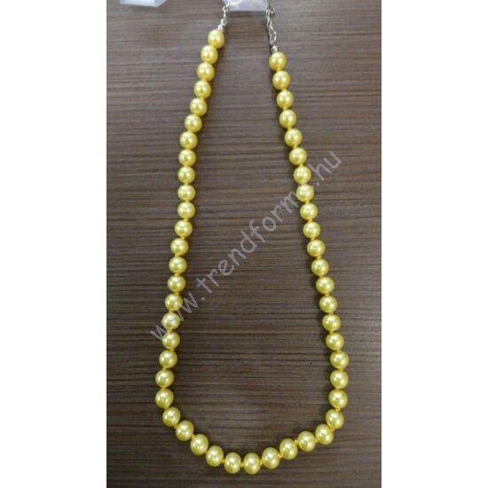 Sárga gyöngysor