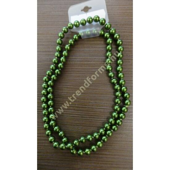 Zöld gyöngysor