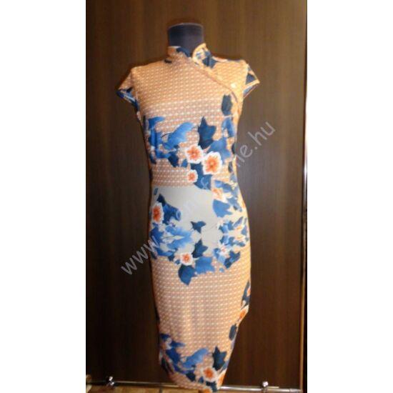 Envy virágmintás japán gombos ruha