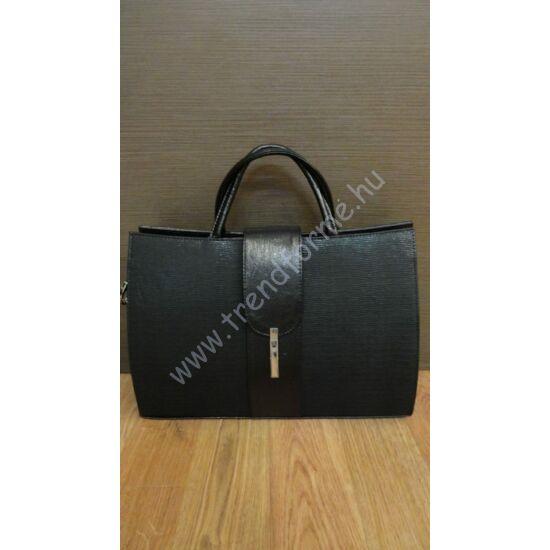 Karen fekete rostbőr táska